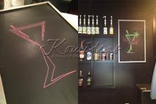 the-vault-nacogdoches-chalkboard-logo-design